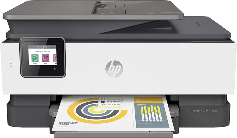 HP OfficeJet Pro 8023 All-in-One Printer - (1KR64B) - Afatrading Company Limited