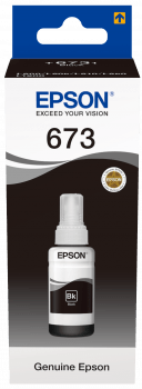 Epson T6731 70ml Black Ink Bottle - Afatrading Company Limited