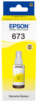 Epson T6734 70ml Yellow Ink Bottle - Afatrading Company Limited