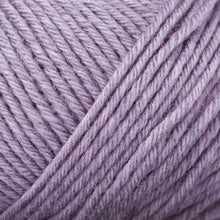 Load image into Gallery viewer, Skein of Rowan Baby Merino Silk DK DK weight yarn in the color Lavender (Purple) for knitting and crocheting.