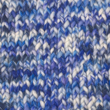 Load image into Gallery viewer, Skein of Berroco Coco Super Bulky weight yarn in the color Pool (Blue) for knitting and crocheting.