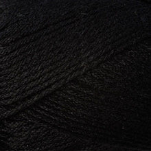 Load image into Gallery viewer, Skein of Berroco Comfort DK DK weight yarn in the color Liquorice (Black) for knitting and crocheting.