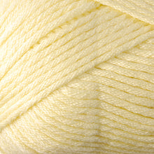 Load image into Gallery viewer, Skein of Berroco Comfort Worsted Worsted weight yarn in the color Buttercup (Yellow) for knitting and crocheting.