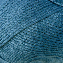 Load image into Gallery viewer, Skein of Berroco Comfort Worsted Worsted weight yarn in the color Cadet (Blue) for knitting and crocheting.