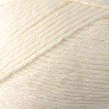 Load image into Gallery viewer, Skein of Berroco Comfort Worsted Worsted weight yarn in the color Ivory (Cream) for knitting and crocheting.