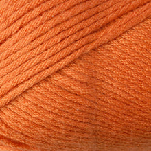 Load image into Gallery viewer, Skein of Berroco Comfort Worsted Worsted weight yarn in the color Kidz Orange (Orange) for knitting and crocheting.