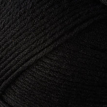 Load image into Gallery viewer, Skein of Berroco Comfort Worsted Worsted weight yarn in the color Liquorice (Black) for knitting and crocheting.