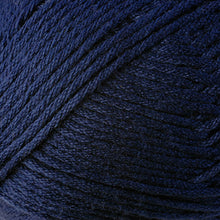 Load image into Gallery viewer, Skein of Berroco Comfort Worsted Worsted weight yarn in the color Navy Blue (Blue) for knitting and crocheting.