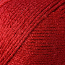 Load image into Gallery viewer, Skein of Berroco Comfort Worsted Worsted weight yarn in the color Primary Red (Red) for knitting and crocheting.