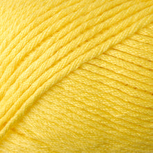 Load image into Gallery viewer, Skein of Berroco Comfort Worsted Worsted weight yarn in the color Primary Yellow (Yellow) for knitting and crocheting.