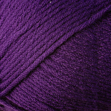 Load image into Gallery viewer, Skein of Berroco Comfort Worsted Worsted weight yarn in the color Purple (Purple) for knitting and crocheting.