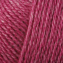 Load image into Gallery viewer, Skein of Berroco Folio DK weight yarn in the color Bayberry (Pink) for knitting and crocheting.