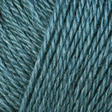 Load image into Gallery viewer, Skein of Berroco Folio DK weight yarn in the color Pacific (Blue) for knitting and crocheting.