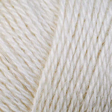 Load image into Gallery viewer, Skein of Berroco Folio DK weight yarn in the color Pearl (White) for knitting and crocheting.