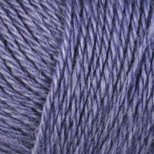 Load image into Gallery viewer, Skein of Berroco Folio DK weight yarn in the color Violet (Purple) for knitting and crocheting.