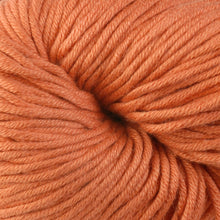 Load image into Gallery viewer, Skein of Berroco Modern Cotton Worsted weight yarn in color Arcade (Orange) for knitting and crocheting.