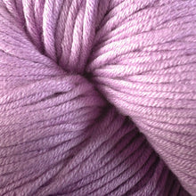 Load image into Gallery viewer, Skein of Berroco Modern Cotton Worsted weight yarn in color Brickley (Purple) for knitting and crocheting.