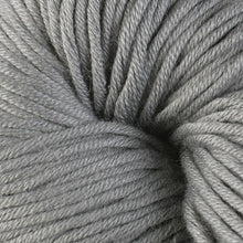 Load image into Gallery viewer, Skein of Berroco Modern Cotton Worsted weight yarn in color Tiverton (Gray) for knitting and crocheting.