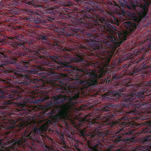 Load image into Gallery viewer, Skein of Berroco Ultra Alpaca Chunky Bulky weight yarn in the color Berry Pie Mix (Purple) for knitting and crocheting.