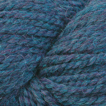 Load image into Gallery viewer, Skein of Berroco Ultra Alpaca Chunky Bulky weight yarn in the color Blueberry Mix (Blue) for knitting and crocheting.