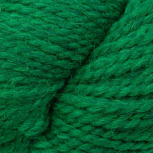 Load image into Gallery viewer, Skein of Berroco Ultra Alpaca Chunky Bulky weight yarn in the color Emerald Mix (Green) for knitting and crocheting.