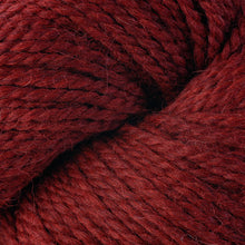 Load image into Gallery viewer, Skein of Berroco Ultra Alpaca Chunky Bulky weight yarn in the color Redwood Mix (Red) for knitting and crocheting.