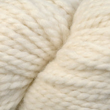 Load image into Gallery viewer, Skein of Berroco Ultra Alpaca Chunky Bulky weight yarn in the color Winter White (White) for knitting and crocheting.