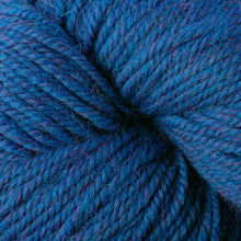 Load image into Gallery viewer, Skein of Berroco Ultra Alpaca Worsted weight yarn in the color Azure Mix (Blue) for knitting and crocheting.