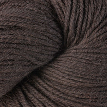 Load image into Gallery viewer, Skein of Berroco Ultra Alpaca Worsted weight yarn in the color Carob (Brown) for knitting and crocheting.