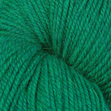 Load image into Gallery viewer, Skein of Berroco Ultra Alpaca Worsted weight yarn in the color Emerald Mix (Green) for knitting and crocheting.