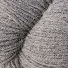 Load image into Gallery viewer, Skein of Berroco Ultra Alpaca Worsted weight yarn in the color Light Grey (Gray) for knitting and crocheting.
