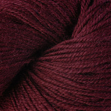 Load image into Gallery viewer, Skein of Berroco Ultra Alpaca Worsted weight yarn in the color Merlot (Red) for knitting and crocheting.