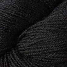 Load image into Gallery viewer, Skein of Berroco Ultra Alpaca Worsted weight yarn in the color Pitch Black (Black) for knitting and crocheting.