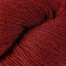 Load image into Gallery viewer, Skein of Berroco Ultra Alpaca Worsted weight yarn in the color Redwood Mix (Red) for knitting and crocheting.