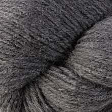 Load image into Gallery viewer, Skein of Berroco Ultra Alpaca Worsted weight yarn in the color Salt & Pepper (Gray) for knitting and crocheting.