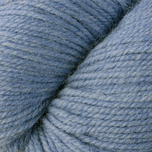 Load image into Gallery viewer, Skein of Berroco Ultra Alpaca Worsted weight yarn in the color Stonewashed Mix (Blue) for knitting and crocheting.