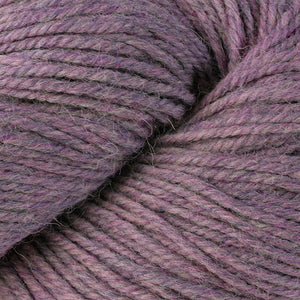 Skein of Berroco Ultra Alpaca Worsted weight yarn in the color Sweet Nectar Mix (Pink) for knitting and crocheting.