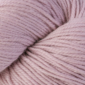 Skein of Berroco Ultra Alpaca Worsted weight yarn in the color Tea Rose (Pink) for knitting and crocheting.