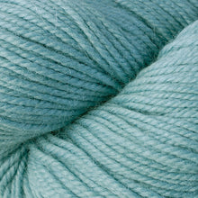 Load image into Gallery viewer, Skein of Berroco Ultra Alpaca Worsted weight yarn in the color Zephyr (Blue) for knitting and crocheting.