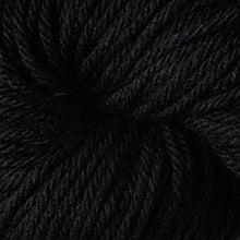 Load image into Gallery viewer, Skein of Berroco Vintage Chunky Bulky weight yarn in the color Cast Iron (Black) for knitting and crocheting.