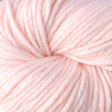 Load image into Gallery viewer, Skein of Berroco Vintage Chunky Bulky weight yarn in the color Fondant (Pink) for knitting and crocheting.