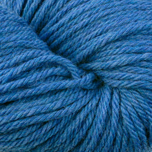 Load image into Gallery viewer, Skein of Berroco Vintage Chunky Bulky weight yarn in the color Sapphire (Blue) for knitting and crocheting.