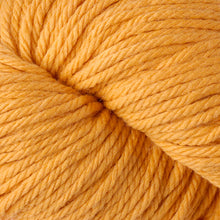 Load image into Gallery viewer, Skein of Berroco Vintage Chunky Bulky weight yarn in the color Sunny (Yellow) for knitting and crocheting.