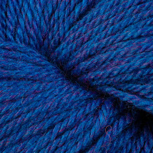 Skein of Berroco Vintage DK DK weight yarn in the color Blue Moon (Blue) for knitting and crocheting.