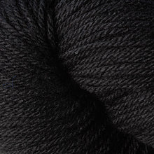 Load image into Gallery viewer, Skein of Berroco Vintage DK DK weight yarn in the color Cast Iron (Black) for knitting and crocheting.