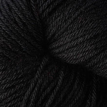 Load image into Gallery viewer, Skein of Berroco Vintage  Worsted weight yarn in the color Cast Iron (Black) for knitting and crocheting.