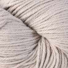 Load image into Gallery viewer, Skein of Berroco Vintage Worsted weight yarn in the color Dove (Gray) for knitting and crocheting.