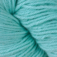 Load image into Gallery viewer, Skein of Berroco Vintage  Worsted weight yarn in the color Electric (Blue) for knitting and crocheting.