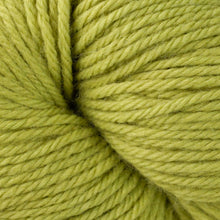 Load image into Gallery viewer, Skein of Berroco Vintage Worsted weight yarn in the color Grapes (Green) for knitting and crocheting.