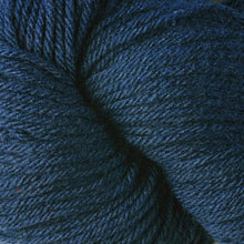 Load image into Gallery viewer, Skein of Berroco Vintage Worsted weight yarn in the color Indigo (Blue) for knitting and crocheting.